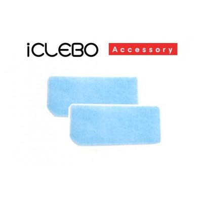 Набор антибактериальных фильтров (2шт) для пылесосов iClebo Arte или iClebo POP
