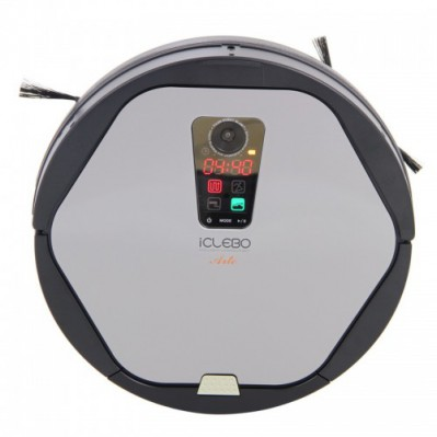 Робот-пылесос YUJIN Robot iClebo Arte Silver YCR-M05-20