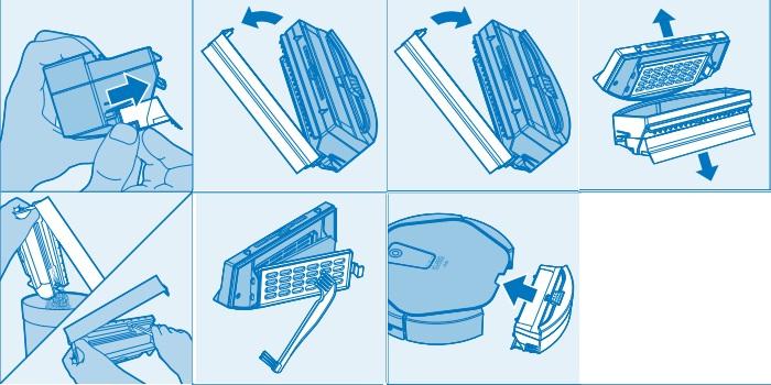 Контейнер для мусора iclebo arte